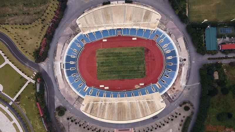 Sân vận động quốc gia Mỹ Đình là nơi thi đấu Môn Điền Kinh