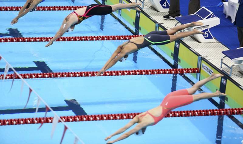 Các bộ môn bơi lặn, nhảy cầu sẽ được tổ chức tại Cung thể thao dưới nước