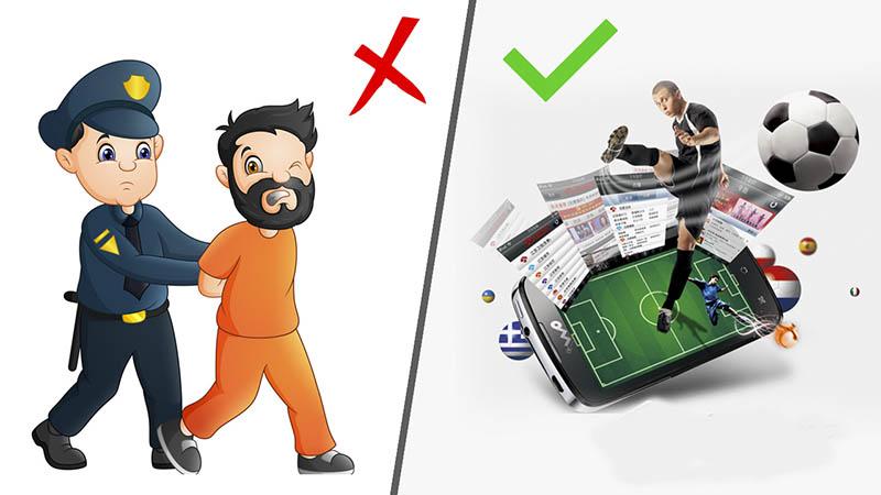 Luật cá độ bóng đá cho phép ở Việt Nam